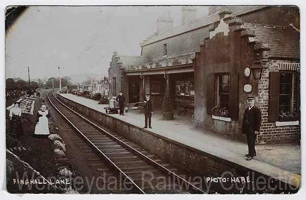 Constable Burton. 1 Jervaulx Finghall Lane Railway Station Photo